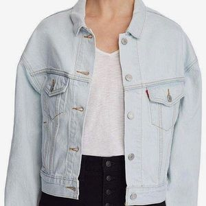 Levi's slouch denim jacket